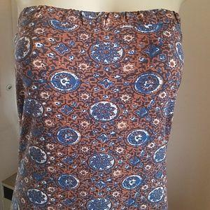 Rvca maxi tub top dress size med
